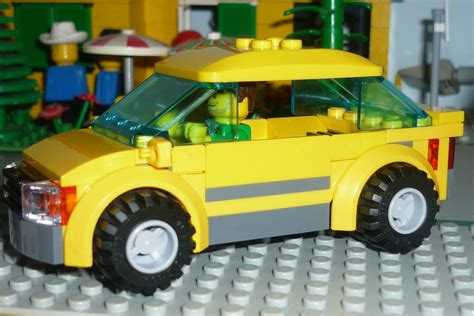 lego city  car  camper  brick city