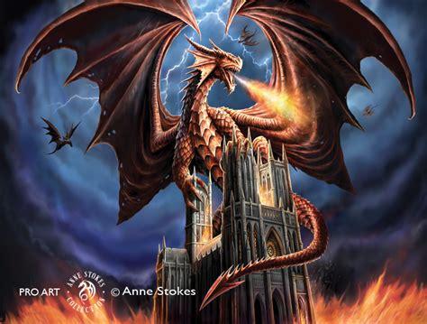 anne stokes dragon fury dgfasw