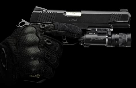 surefire pistol light surefire adds two ir capable weapon lights to its x series