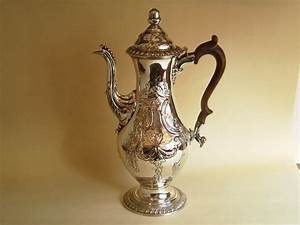 George 111 Old Sheffield plate coffee pot £SOLD Henry