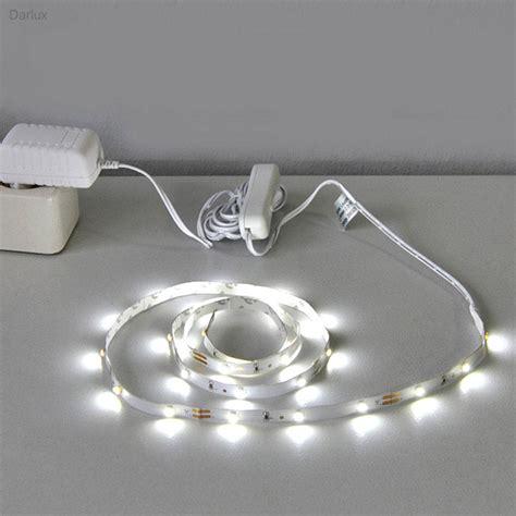 led lichtleiste 2m led band warmwei 223 lichtband 2m streifen leuchtband smd briloner lichtkette ebay