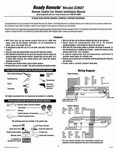 Directed Electronics 20402 Installation Manual