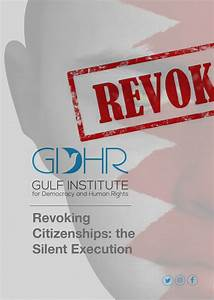 Gulf Institute For Democracy And Human Rights  Gulf Institute For Democracy And Human Rights In