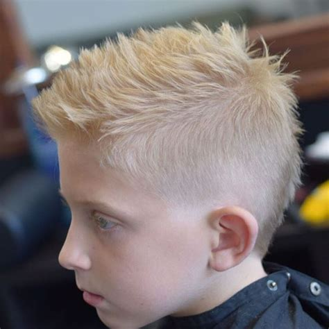 Boy Faux Hawk Hairstyle the 25 best boys faux hawk ideas on boys
