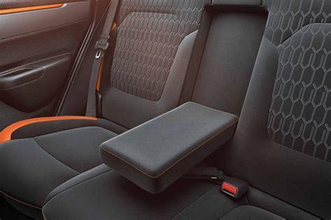 renault kwid seating 2018 renault kwid climber rear seat armrest autobics
