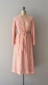 vintage 1940s robe 40s chenille robe starlet at home With 1940s robe