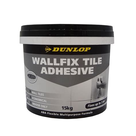 Tile Adhesive Remover Bunnings by Dunlop 15kg Wallfix Tile Adhesive Bunnings Warehouse