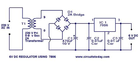Volt Regulator Circuit Using Voltage