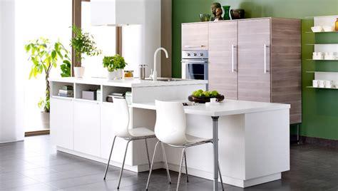 table de cuisine ikea blanc cuisine ikea avec îlot central blanc