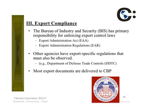 bureau of industry and security bis to trade compliance