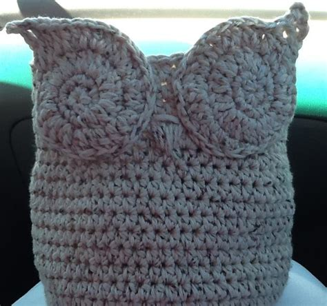 crochet owl basket you have to see little owl basket on craftsy