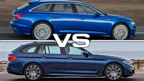 Bmw 5 Series Touring 2019 by 2019 Audi A6 Avant Vs 2018 Bmw 5 Series Touring Technical