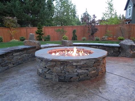 firepit design landscaping fire pits