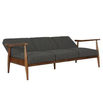 austen twin  split  convertible sofa mid