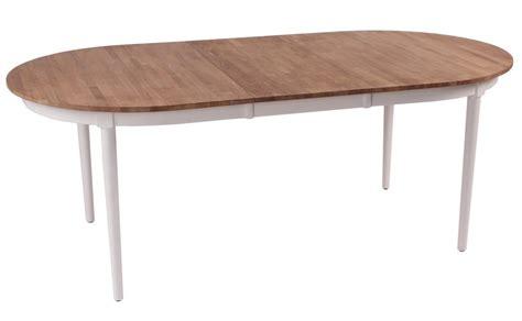 askenaes matbord ovalt vit oljad ek  kr