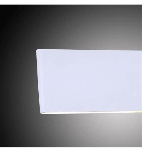 applique murale blanche applique rectangle aluminium bross 233 couleur cuivre en led