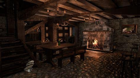 fantasy tavern interior   props