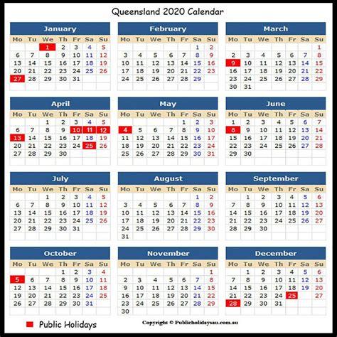 qld public holidays school holiday calendar