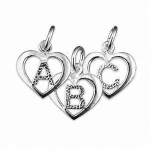 top 10 silver charms to hint to your man for valentines With silver letter charms