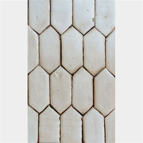 Elongated Hexagon Tile by Field Picket 7 Quot X 3 Quot 5 8 Quot Thick