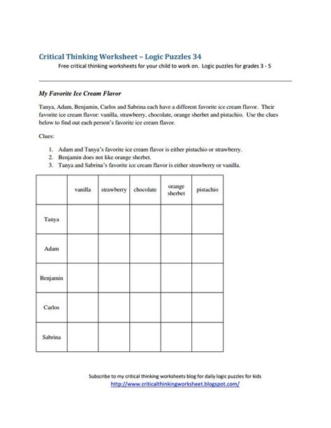 Logic Puzzles Worksheets Pdf  Logic Puzzle Wikipedialogic Puzzles Free Downloads Of That Would