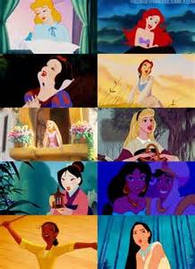 Disney Princess Singing