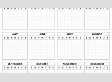 Printable Yearly Calendar 2018 Free Blank Calendar