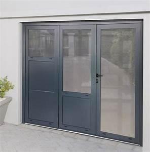 Porte De Garage 4 Vantaux : portes de garage battantes eg fermetures roannaises eg ~ Dallasstarsshop.com Idées de Décoration