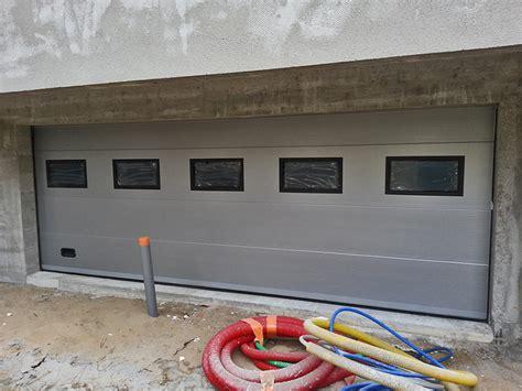 grande porte de garage biron fabricant instalateur menuiserie alluminium