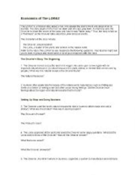 the lorax worksheet worksheets for all and