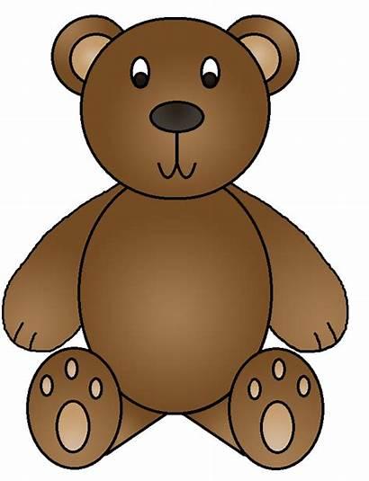 Bear Clipart Bears Brown Clip Birthday Cliparts