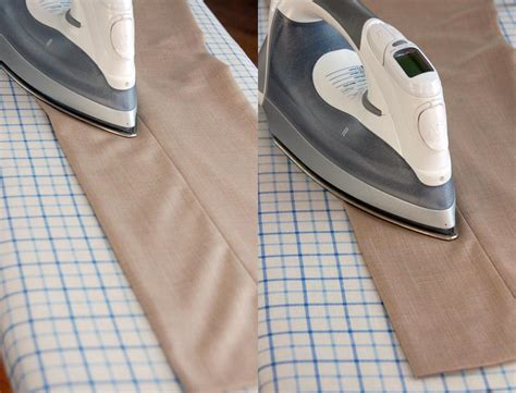 pleated cuff how to iron trousers the of manliness