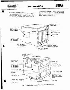 Carrier 58da501005 Gas Furnace Owners Manual