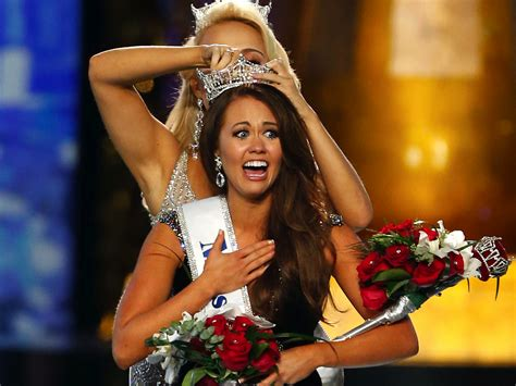 Miss America winner Cara Mund crowned after climate change ...