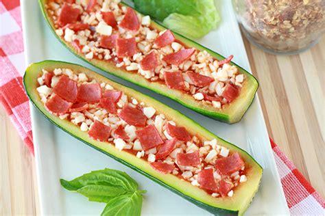 Recipe For Zucchini Pizza Boats by Zucchini Pizza Boats Recipe Hungry