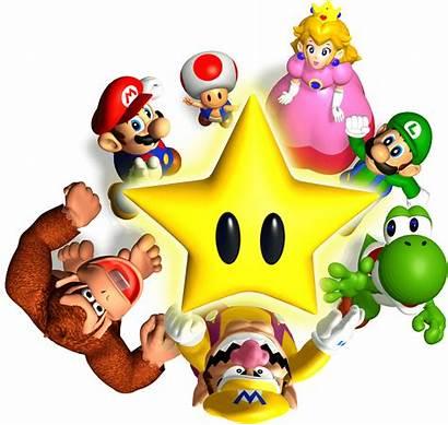 Mario Party Transparent Background Artwork Cast 64