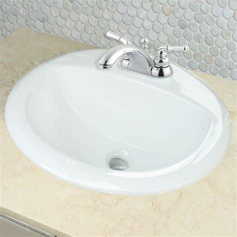 nantucket sinks   drop  oval ceramic bathroom