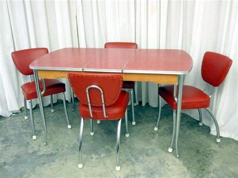 31000 retro chrome dining set current 17 best images about chrome kitchen dinette table and