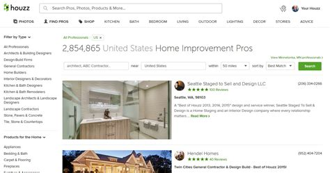 rank higher  houzz  people search