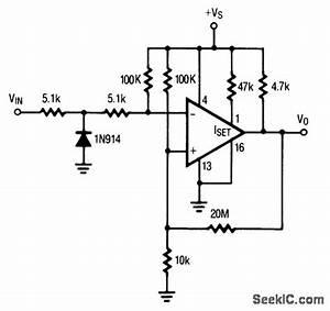 Zero Crossing Detector Single Supply