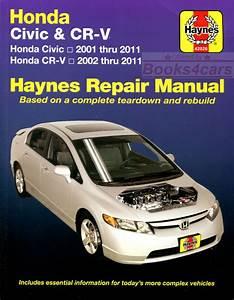 Honda Crv Shop Manual Service Repair Book Haynes Workshop