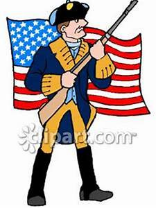 Revolutionary War Soldier Clipart (32+)