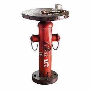 Möbel Industrial Style : industrial m bel bartisch beistelltisch hydranten look ~ Indierocktalk.com Haus und Dekorationen