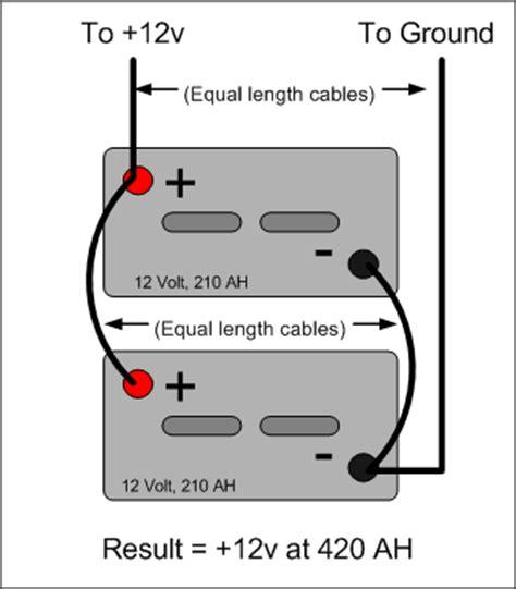 Wind Turbine Wirings Parallel Series Wiring Battery