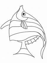 Fish Coloring Angel Pages Angelfish Printable Betta Template Drawing Drawings Getcolorings Getdrawings Wings Stitch Recommended Sketch Colorings sketch template