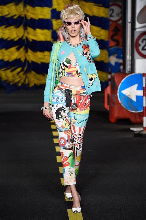 moschino  powerpuff girls   high fashion