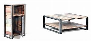 Style Industriel Salon : blog ruedesiam tout savoir sur nos gammes de meuble industriel ~ Teatrodelosmanantiales.com Idées de Décoration