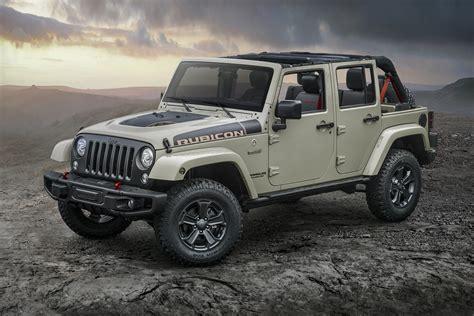jeep adds wrangler rubicon recon edition  lineup