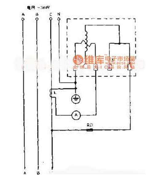 the wiring circuit diagram with single phase watt hour