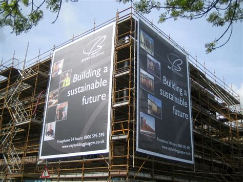 Full Colour Banners And Building Wraps  Evm Glasgow